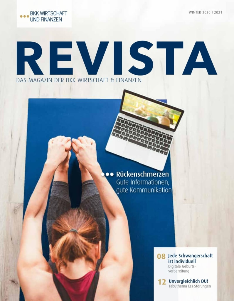 Coverfoto der 4. Revista 2020