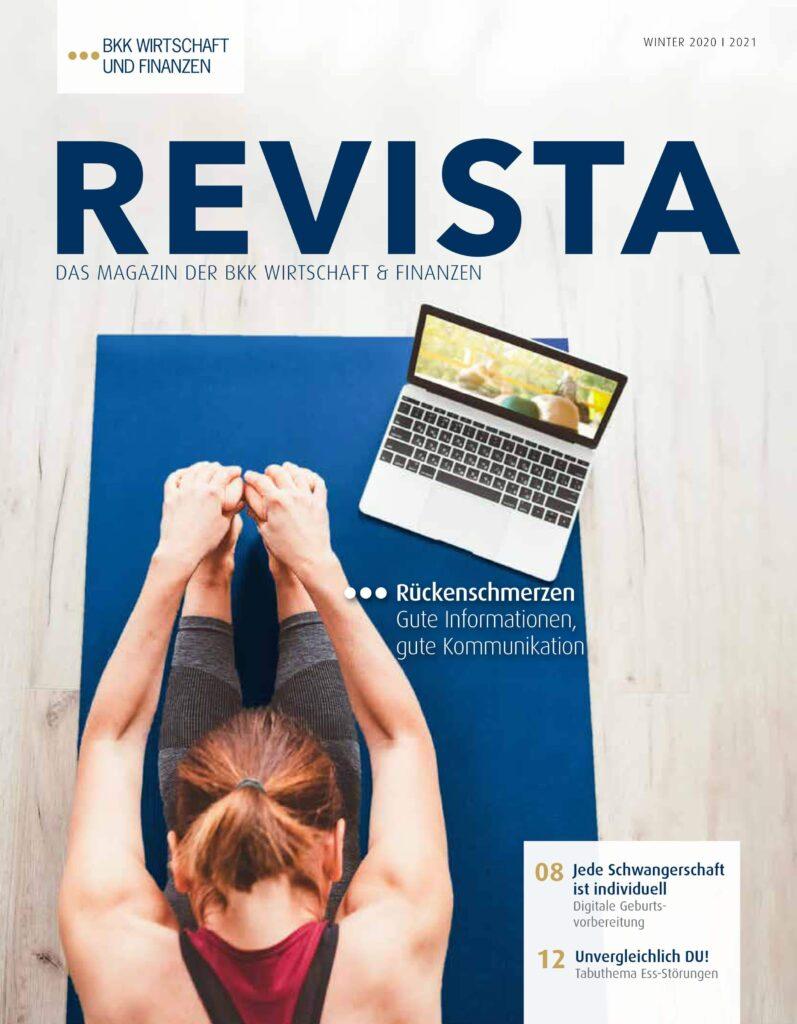 Coverfoto der 4. Revista 2020