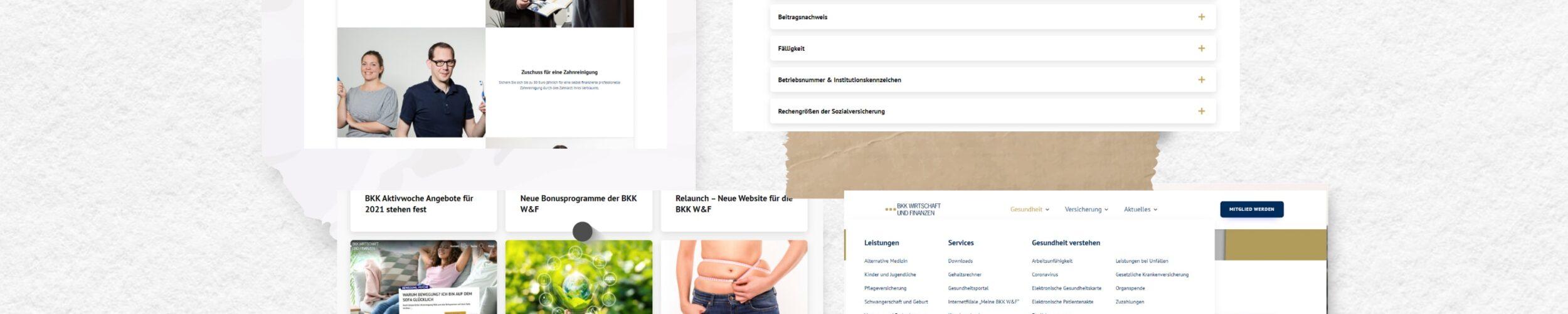 Collage Screenshots BKK W&F