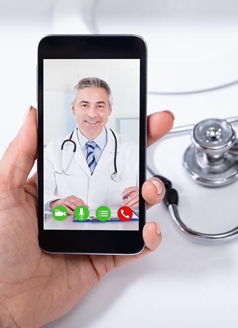 Dr. Google sagt Corona? Frag lieber den Online-Arzt!