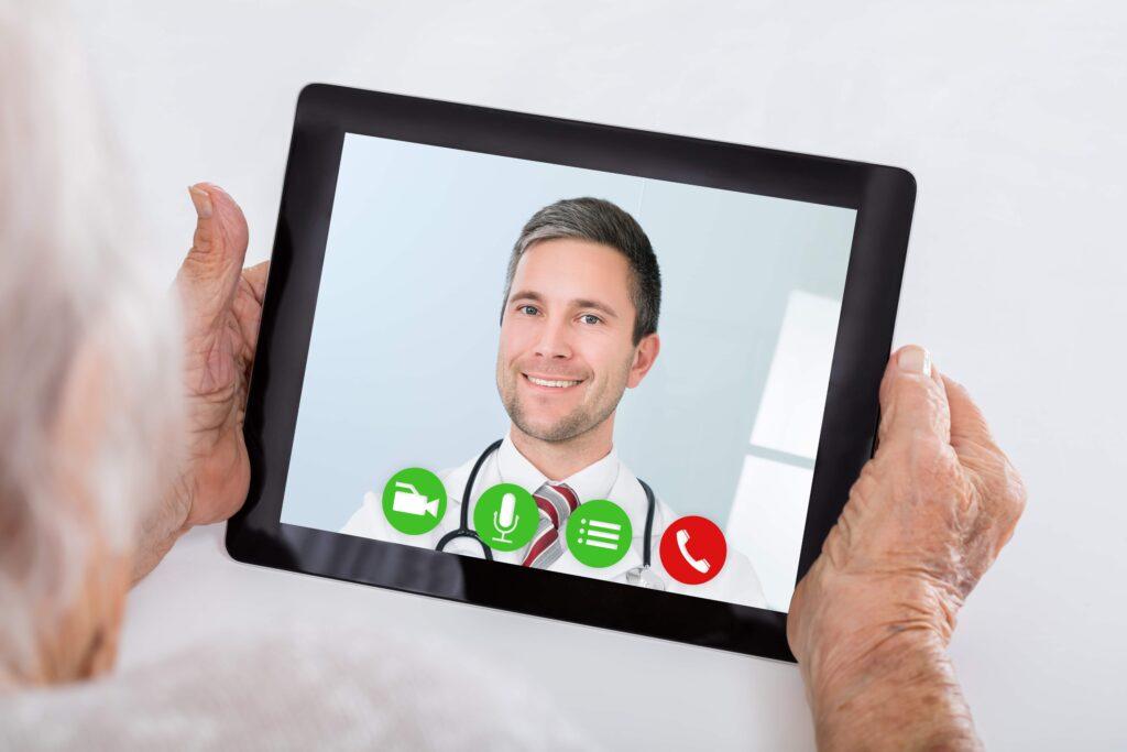 Teleclinic Tschuess Wartezimmer Hallo Online Arzt. 1